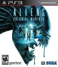 Aliens Colonial Marines PS3 Great Condition Complete Fast Shipping