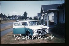 1960 Kodachrome photo slide  car automobile #4