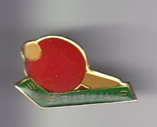 RARE PINS PIN'S .. SPORT PING PONG TENNIS DE TABLE CLUB SL BRIQUAIS  ?   ~D1
