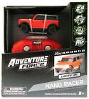 Nano Racer RC Car ~ Bronco ~ Red ~ Adventure Force ~ Radio Control Fun