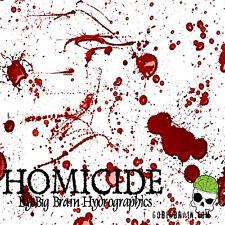 1m of Homicide (BBH) 100cm Big Brain Hydrographics water transfer film