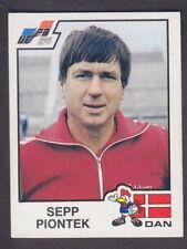 Panini - Euro 84 - # 62 Sepp Piontek - Danmark