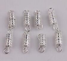 50/100PCS Barrel Screw Clasps DIY Jewelry Necklace & Bracelet Craft Findings
