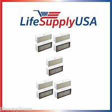 5 pack Filter A1001B to fit Bionaire  LC1060 & LE1160 Air Cleaner Dual Filter