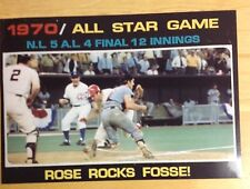 Pete Rose Ray Fosse Cincinnati Reds Big Red Machine unsigned  8x10 Photo  #36