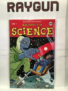 Adventures in Science Paperback Graphic Novel Dead Canary Comics 9780995457218