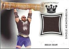 2018 Sportkings Single Memorabilia #SMBS Brian Shaw - NM-MT