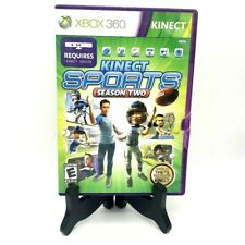 Kinect Sports Season 2 Microsoft Xbox 360 Complete Disc Very Good Wear On Case