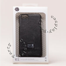 "Hex Focus Leather Slim Thin Skin Snap Case For iPhone 7 iPhone 8 4.7"" Black New"