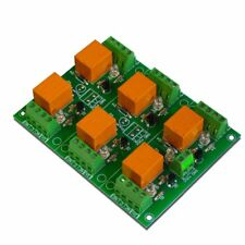 6 Relay Output Module Board for your AVR, PIC  Project - 12V