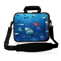 "Laptop Shoulder Bag Cover Case + Handle For 15"" 15.4"" 15.6"" Computer Notebook PC"