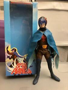 "Battle of The Planets G-Force Jason 12"" Figure  Medicom Gatchaman 2002 - AS IS"
