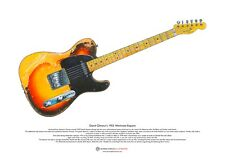 David Gilmour's 1955 Workmate Esquire ART POSTER A3 size