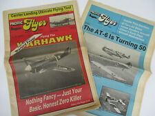 Pacific Flyer Airplane Newspaper History Stories Military Models Vintage 1988