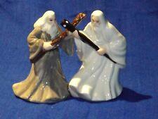 LOTR Gandalf & Saruman Magnetic Salt & Pepper Shakers Middle-earth SEALED