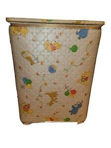 "Vintage Classic Winnie the Pooh Clothes Hamper, 18x10x25"""
