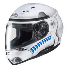 HJC CS-15 Star Wars Storm Trooper Visage Complet Casque Moto