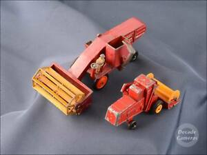 Lesney Massey Ferguson / Claas Combine Harvester Matchbox Models - 429D