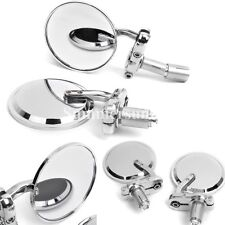 """Motorcycle 7/8"""" Handle Bar End Convex Mirrors For HONDA GROM 125 MSX125 Chrome"""