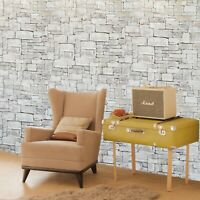 Wallpaper olive green purple brown modern faux stone textured wallcoverings 3D