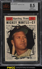 1961 Topps Mickey Mantle ALL-STAR #578 BVG 8.5 NM-MT+