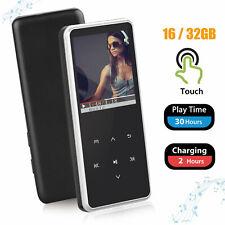 16/32Gb Touch Screen Wireless Bluetooth Mp3 Music Player Fm Recorder HiFi Sound