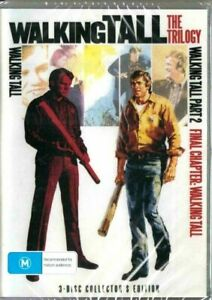 Walking Tall The Trilogy DVD 3 Disc Collection New and Sealed Australia