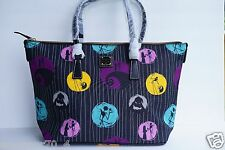 NWT Disney Dooney & Bourke Jack Skellington Nightmare before Christmas Tote $248