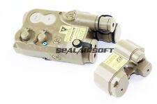 PEQ-16 Dummy LiPo NiMH Battery Box Case for Airsoft 20mm Picatinny Rail AEG -TAN