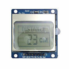 5110LCD 84x48 Graphic Display Screen Module with Soldered Pins for Arduino RPI