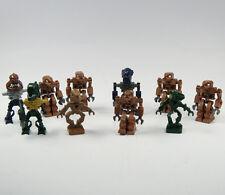 LEGO 10 Robot Bionicle Espacio MINIFIGURA Bronce Alien