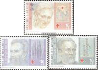 Belgien 2664-2666 (kompl.Ausg.) postfrisch 1995 Belgisches Rotes Kreuz