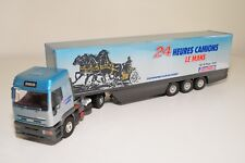 N LBS ELIGOR IVECO TRUCK WITH TRAILER 24 HEURES CAMIONS LE MANS NMINT CONDITION