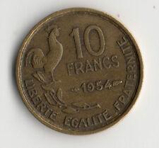 MONNAIE DE 10 FRANCS GUIRAUD DE 1954 @ TOP COTE @ LA PLUS RARE @ PROMO TOP N°2