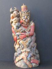 Ancienne Statuette Bois, mythologie de BALI INDONÉSIE