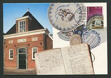 NIEDERLANDE MK 1978 PORZELLAN DELFT ART CHINA PORECELAIN MAXI CARD MC CM d5772