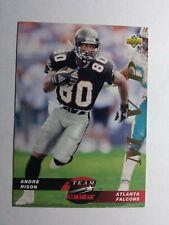 ANDRE RISON 1993 UPPER DECK TEAM MVP FOOTBALL CARD # TM14 D1088