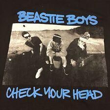 Beastie Boys Check Your Head Black T-shirt Rap Hip Hop NYC New York Subway Rock