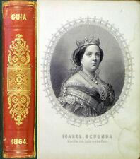 Spain: Guia de forasteros en Madrid, para el ano de 1864. First edition