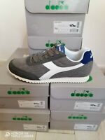Scarpe Sportive Sneakers Diadora JOG LIGHT Canvas LifeStyle Grigio uomo