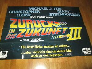 Filmplakat - Videoposter - Zurück in die Zukunft III 3 - 120 x 80