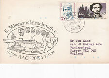 Germany 1994 5th Minesweeper Group Cover VGC