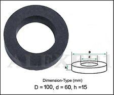Large Toroid Ring Ferrite Core 100mm x 60mm x 15mm USSR