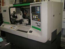 Hardinge Model Chnci 16C Lathe/6' Hardinge Bar Feeder Exc. Running Machine