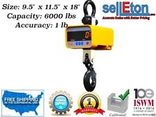 Ew Industrial Super Duty Crane Scale | Hanging Scale Large Enclosure 6000 x 1