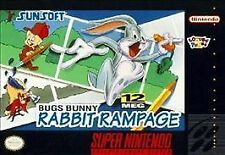 Bugs Bunny in Rabbit Rampage (Super Nintendo Entertainment System, 1994) SNES