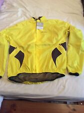 Craft active rain jacket mens / man yellow, large, cycling