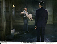 THE DEVIL RIDES OUT/DEVIL'S BRIDE orig HAMMER 1968 lobby card CHRISTOPHER LEE