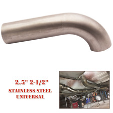 "2.5"" 2-1/2"" Auto Short 90 Degree Stainless Steel Mandrel Bend Pipe Exhaust 16GA"