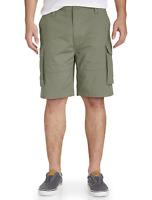 NAUTICA Men's Ripstop Cargo Shorts Multi Pocket Big & Tall Pick Size Olive Green